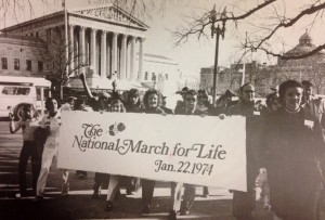 original  march for life with Nellie